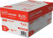 Staples copy paper Letter Size 8.5*11, 75gsm and 80gsm